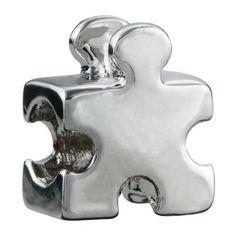 http://cheune.com/store Pugster Autism Puzzle Piece Bead Charm Fits Pandora Charm Bracelet