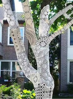 As awesome as a tree wearing a sweater!
