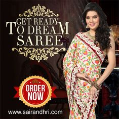 Explore our huge collection of #designer #saree.