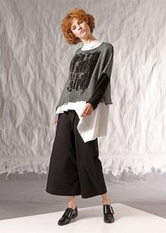 CREA CONCEPT KNITTED PULLOVER 26213**