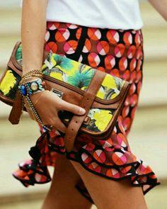 Street style via Tommy Ton