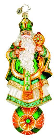 Christopher Radko Christmas Ornament - Good Saint Pat