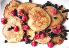 De beste pannekakene Paleo, Pancakes, Gluten, Breakfast, Instagram, Food, Morning Coffee, Essen, Beach Wrap