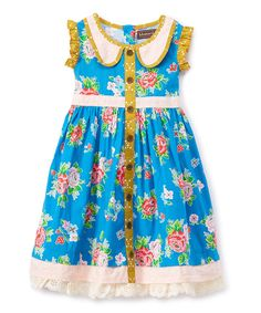 Take a look at this Picnic Lunch Gretta Dress - Infant, Toddler & Girls today!