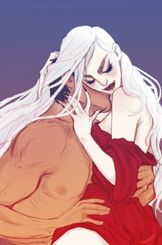 Manon and Dorian by meabhd. Empire of Storms. Sarah J Maas