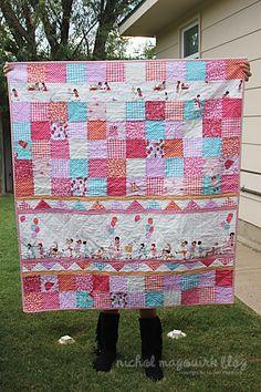 BEAUTIFUL quilt by nicholemagouirk.com!