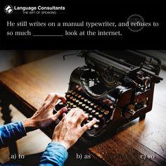 English Grammar Quiz, Subject And Predicate, Typewriter, Teacher, Facebook, Learning, Professor, Teachers, Studying
