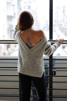 5054ba2471 Oversized knit sweater Womens pullover sweater Oversized  fall  outfit   womens fashion Knit Sweater Outfit