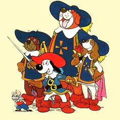 Dogtanian and the three Muskahounds