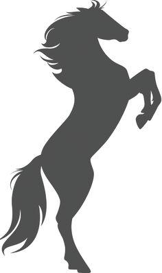 Free Stallion Clip Art Image Clip Art Silhouette Of A