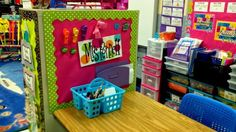 Filing cabinet as magnet board