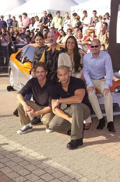 Paul Walker ♥ & the cast of Fast and Furious