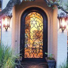 Wrought-Iron Screen-Door Designs For Your Entryway | Design Ideas ...