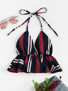 simple date outfits Crop Top Outfits, Cute Casual Outfits, Summer Outfits, African Fashion Dresses, Teen Fashion Outfits, Girl Outfits, Fashion Sewing, Diy Fashion, Ideias Fashion