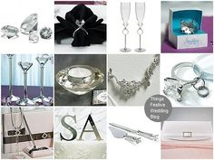 "Diamond wedding theme - ideas to ""ice out"" your winter wedding!"