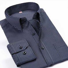 Barato Camisa dos homens Camisas de Vestido Ocasional Camisa Xadrez Roupas  Desgaste Do Trabalho dos homens 9c55303991152