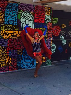 Singing Las Vegas Showgirl. Costume and talent Premier Showgirls.
