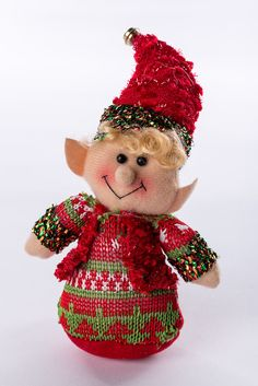 "6"" Elf Ornament"