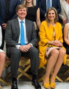 Koning Willem-Alexander en Koningin Máxima lunchen met 'uitblinkers' | ModekoninginMaxima.nl