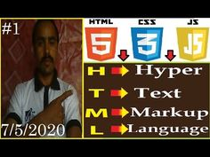 Html Website Design Tutorial || Html Tutorial for Beginners in Urdu 2020...