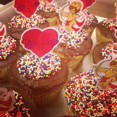 Valentines' Day cupcakes