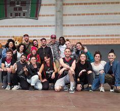 Homenaje del Campeonato Hip Hop Aragón a los entrenadores!! #hiphopmzn17