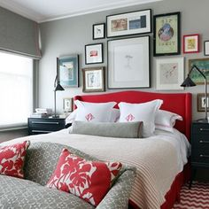 Bunny Turner explains the scheme she has created in her own London bedroom