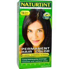 Naturtint, Стойкая краска для волос, 1N оттенок «Черное дерево», 5.28 жидких унций (150 мл) - iHerb.com