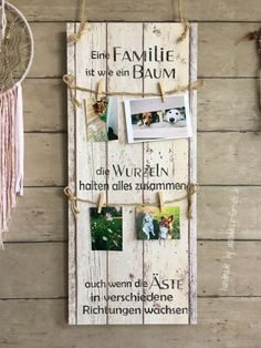 A family is like a tree (with a drawstring) vintage, banner label, sayings, . - Holzschilder/Familie/Zuhause von wanddeko-for-you. Vintage Banner, Diy Wood Signs, Wall Signs, Text Signs, Christmas Signs Wood, Ideias Diy, Baby Furniture, Shabby Chic Decor, Picture Frames