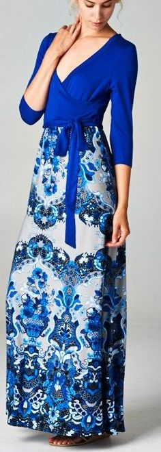 blue mist dress