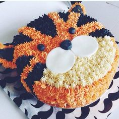 """80 Likes, 8 Comments - Netmums.com (@netmums) on Instagram: """"We can't get over how amazing this tiger cake is! Can we get it for our birthday?"""""""