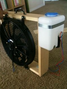 How to build a mist fan fans and breeze mister fan diy solutioingenieria Image collections
