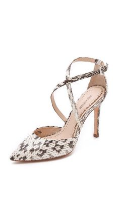 Charlemagne Pumps Closed Toe Summer Shoesjeweled