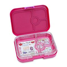Amazon.com: Yumbox Leakproof Bento Lunch Box Container (Framboise Pink) for Kids and Adults: Kitchen & Dining