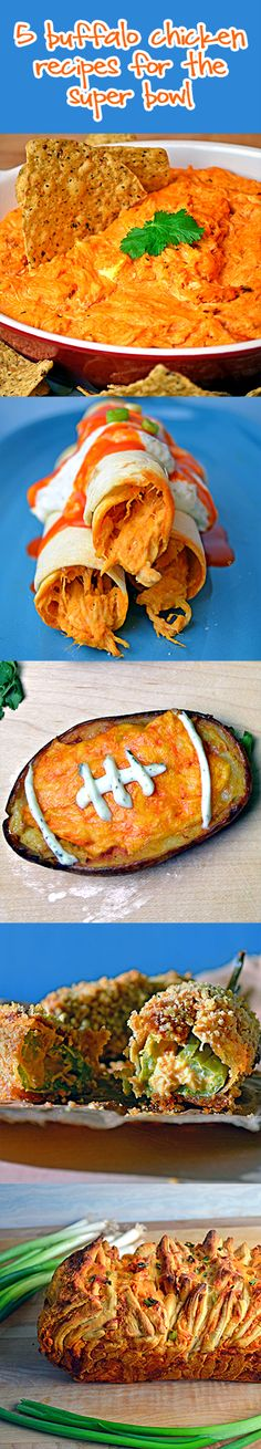 5 Buffalo Chicken Recipes for the Super Bowl! | Host The Toast Blog