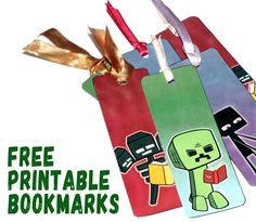 Free Bookmarks For Young Gamers! | Library Walls