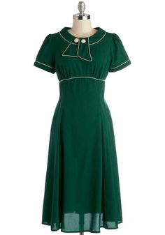 Unflappable Spirit Dress, #ModCloth