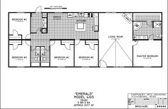 fleetwood mobile home floor plans and prices new double
