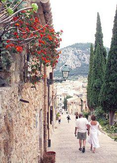 2007 September - Calvary steps, Pollensa, Majorca