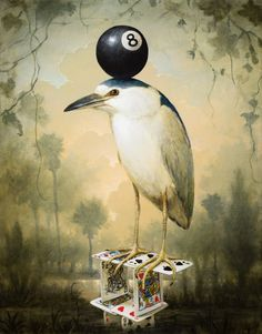 Eightball_30x24 by Kevin Sloan