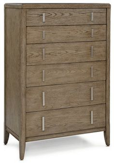 Pierce 6-Drawer Chest - contemporary - dressers chests and bedroom armoires - Mitchell Gold + Bob Williams