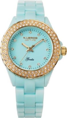 K Women's 9552-5 Icetime Fashion Three Hands Stones Watch K $33.99. Protective mineral crystal. Polycarbonate case. Case diameter: 36 mm. Precise Quartz movement. Water-resistant to 99 feet (30 M)