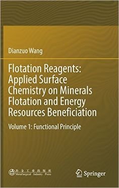 Flotation Reagents: Applied Surface Chemistry on Minerals Flotation and Energy Resources Beneficiation:...