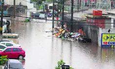 Forte temporal alaga municípios da região