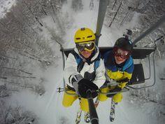 Telesilla hacia el cielo blanco!! #snow #ski #gopro #diaenlanieve #yosoydenieve #alquilar