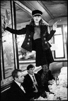 View Kate Moss, Café Lipp, Paris by Arthur Elgort on artnet. Browse upcoming and past auction lots by Arthur Elgort. Arthur Elgort, Kate Moss, Vogue Photographers, Black And White Aesthetic, Black White, Christy Turlington, Photo Black, White Picture, Unisex