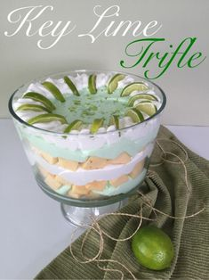 Key Lime Trifle                                                                                                                                                                                 More