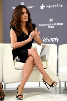 Salma Hayek ~ Best Celebrity Legs in High Heels