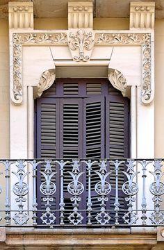 Barcelona - Muntaner 031 a 3 by Arnim Schulz, via Flickr~ L'esquerra De L'example, Barcelona, Catalonia, ES