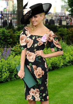 Pixie Lott nails the dress code at Royal Ascot 2013 [Rex]